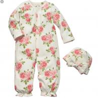 Baby cap and gown set- $34.95