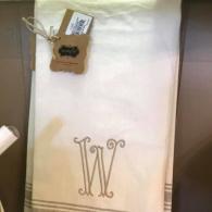 W and K Linen Towels- $12.95 each